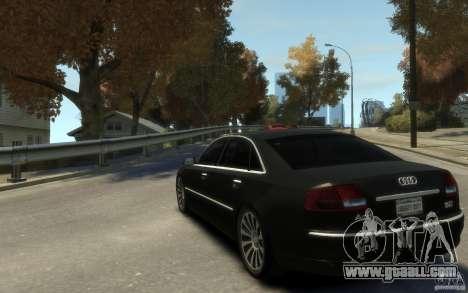 Audi A8 L 6.0 Quattro (Transporter 3) for GTA 4 back view
