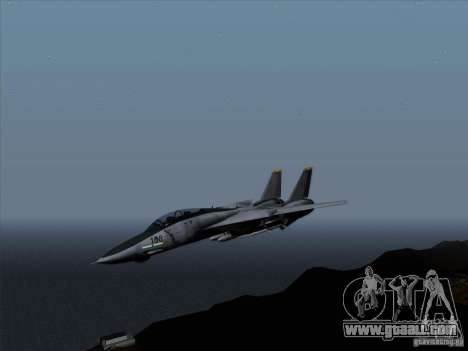 F-14 Tomcat Warwolf for GTA San Andreas left view