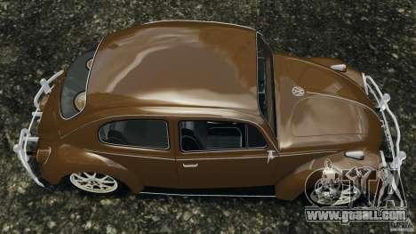 Volkswagen Fusca Gran Luxo v2.0 for GTA 4 right view