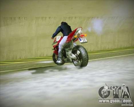 Honda CBR600RR 2005 for GTA San Andreas back view