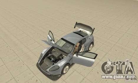 Aston Martin DBR9 (v1.0.0) for GTA San Andreas back view