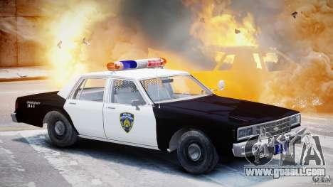 Chevrolet Impala Police 1983 [Final] for GTA 4