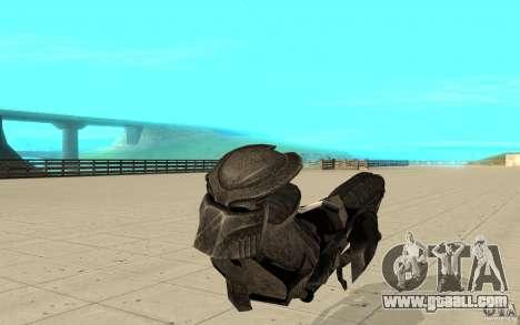 Bike predator for GTA San Andreas