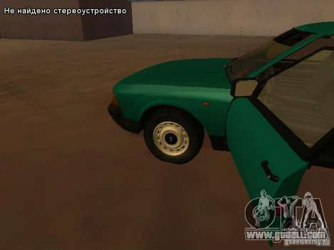 Moskvich 2141 for GTA San Andreas upper view