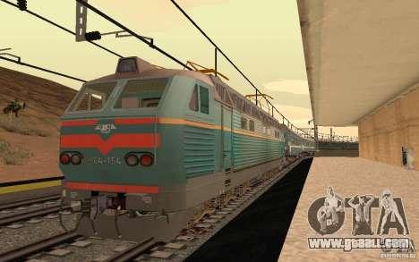 RAILWAY mod II for GTA San Andreas fifth screenshot