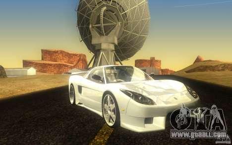 Honda NSX VeilSide Fortune for GTA San Andreas left view