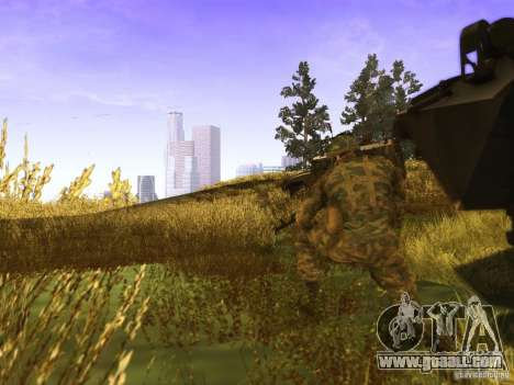 A Russian soldier skin for GTA San Andreas second screenshot