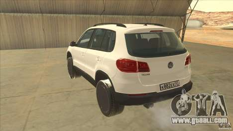 Volkswagen Tiguan 2012 v2.0 for GTA San Andreas back left view