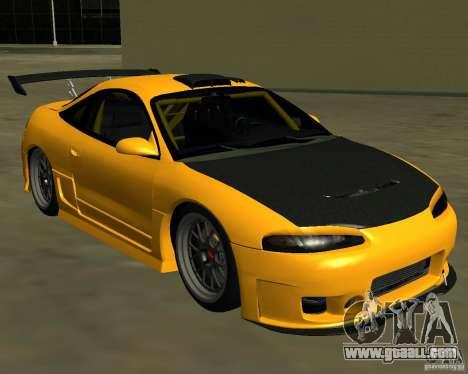 Mitsubushi Eclipse GSX tuning for GTA San Andreas