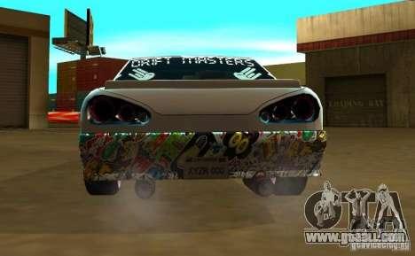 Elegy Drift Masters Final for GTA San Andreas back left view