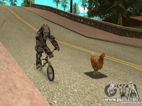 Chicken patrol for GTA San Andreas third screenshot