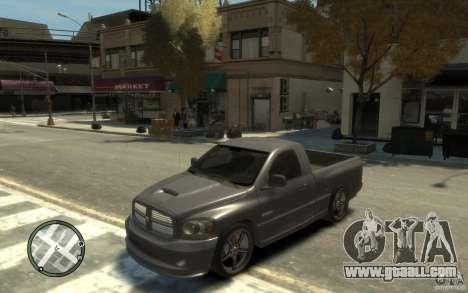 Dodge Ram SRT10 for GTA 4