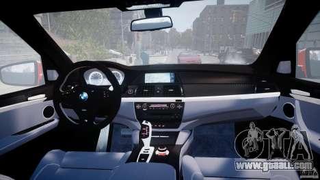 BMW X5M Chrome for GTA 4 interior