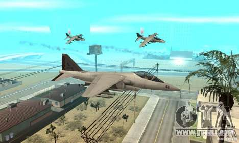Air War for GTA San Andreas second screenshot