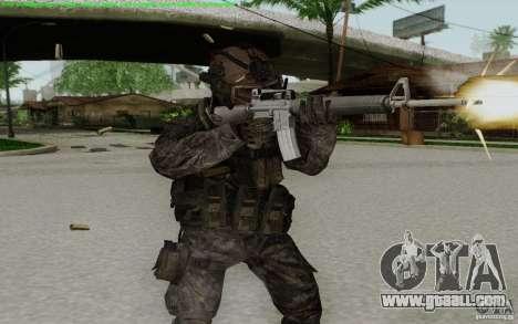 M16A2 for GTA San Andreas forth screenshot