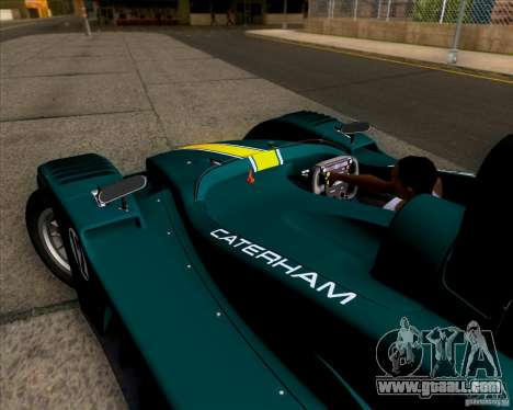Caterham Lola SP300R for GTA San Andreas back view