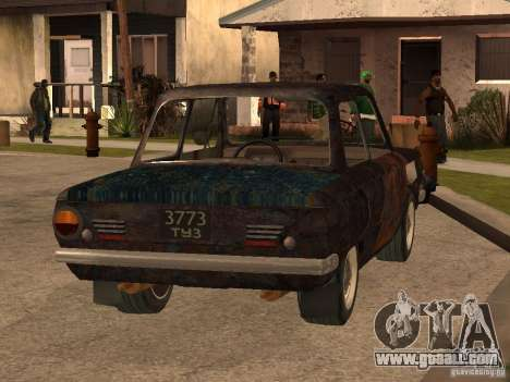ZAZ-968 Abandoned for GTA San Andreas left view