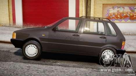 Fiat Uno 70SX 1989-1993 for GTA 4 inner view