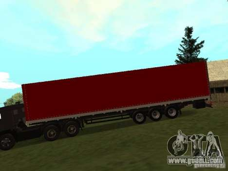 Nefaz 93344 Red for GTA San Andreas left view