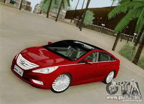 Hyundai Sonata 2012 for GTA San Andreas side view