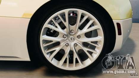Bugatti Veyron 16.4 Super Sport 2011 v1.0 [EPM] for GTA 4 upper view