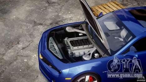 Chevrolet Camaro v1.0 for GTA 4 right view