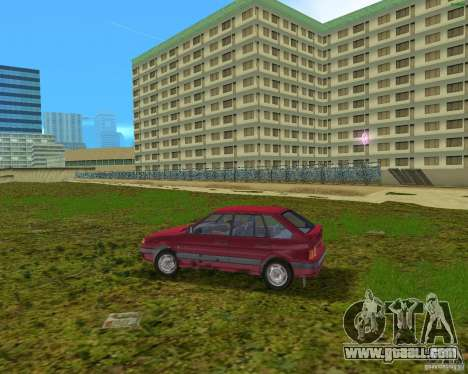 Lada Samara for GTA Vice City left view