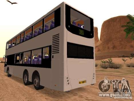 Volvo B7L for GTA San Andreas right view