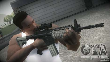 Weapon Pack by GVC Team for GTA San Andreas