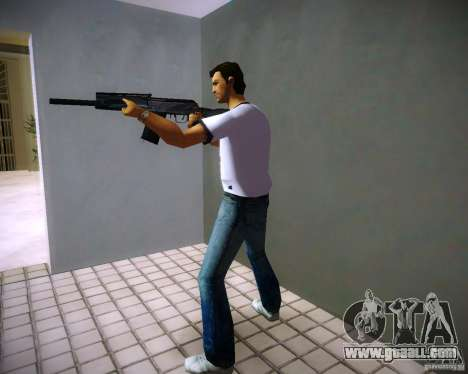 Saiga 12 k for GTA Vice City forth screenshot