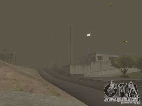 Weather manager for GTA San Andreas ninth screenshot