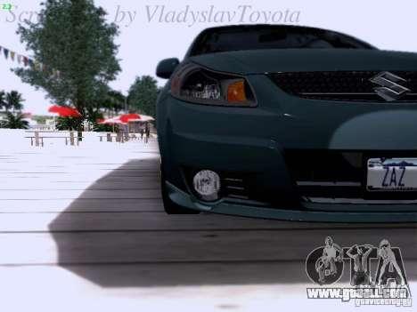 Suzuki SX4 Sportback 2011 for GTA San Andreas inner view
