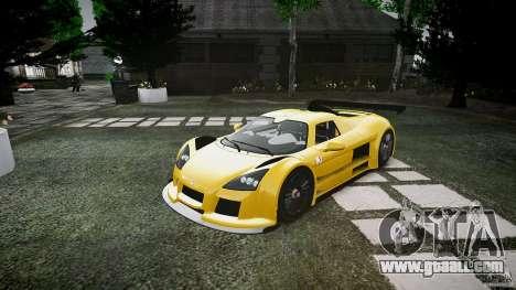 Gumpert Apollo Sport v1 2010 for GTA 4 left view