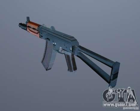AK-74y for GTA Vice City third screenshot