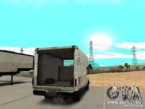 New Benson for GTA San Andreas back left view