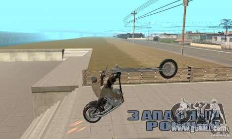 Desperado Chopper for GTA San Andreas right view