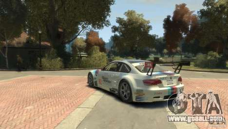 BMW M3 Gt2 for GTA 4 back left view