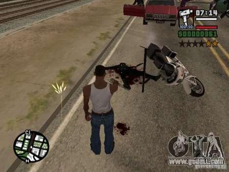 New pattern of blood for GTA San Andreas third screenshot