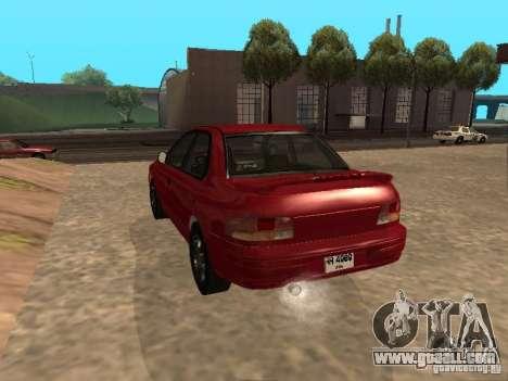 Subaru Impreza WRX STI 1995 for GTA San Andreas left view