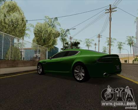Aston Martin Rapide 2010 V1.0 for GTA San Andreas right view