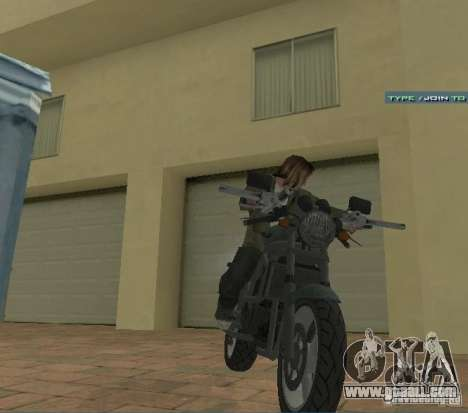 PCJ-600 in GTA IV for GTA San Andreas right view