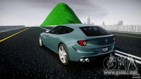 Ferrari FF 2012 for GTA 4 back left view