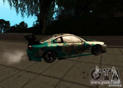 Nissan Silvia S15 for GTA San Andreas right view