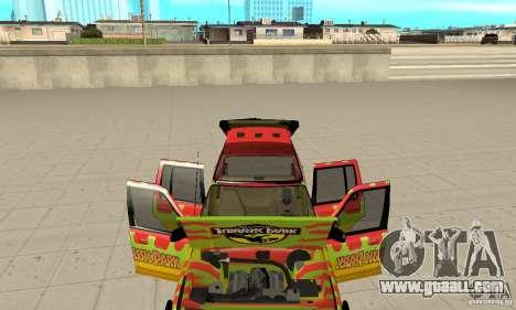 Ford Explorer (Jurassic Park) for GTA San Andreas inner view
