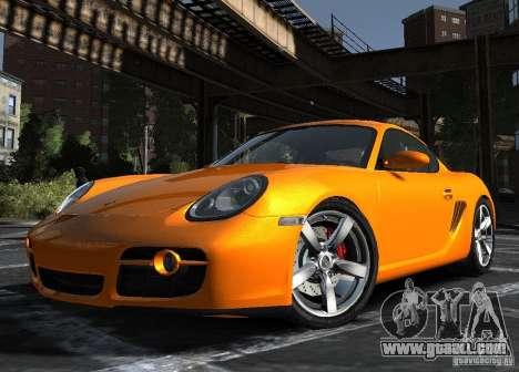 Porsche Cayman S1 for GTA 4 left view