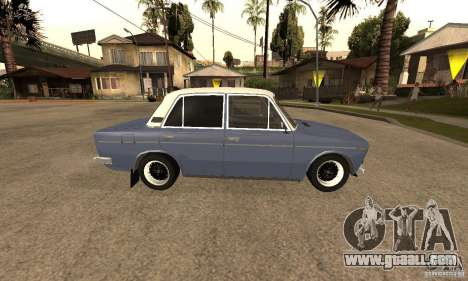 VAZ 2106 Old v2.0 for GTA San Andreas upper view