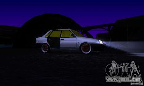 VAZ 21099 Rat Look for GTA San Andreas side view