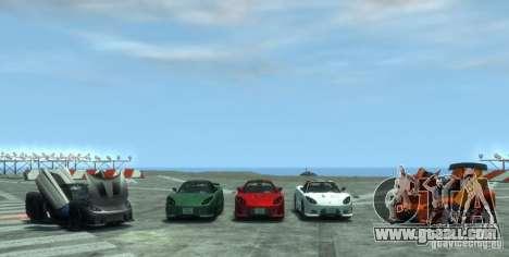 Acura NSX Veilside Fortune v 1.0 for GTA 4 right view