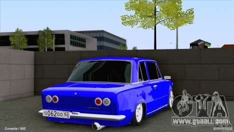 VAZ 2101 Coupe Loui for GTA San Andreas back left view