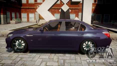 BMW M5 Lumma Tuning [BETA] for GTA 4 left view